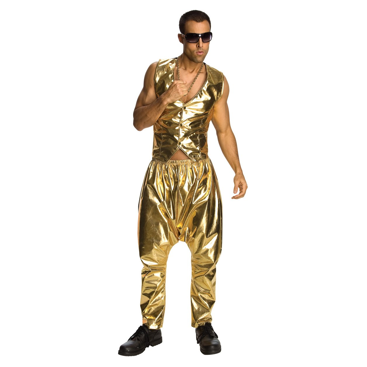 cost charm online here reasonably priced Gold MC Hammer Parachute Pants