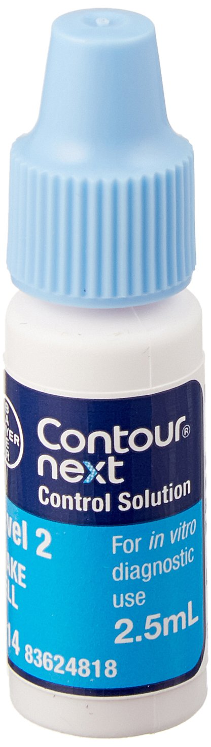 Diagnostics Direct 1Z-8VRW-E63D Contour Next Normal Control Solution, Level 2, 2.5 mL