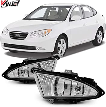 Fits 2007-2010 Toyota Camry Black Cover Bumper Fog Lights Lamps Right Side RH