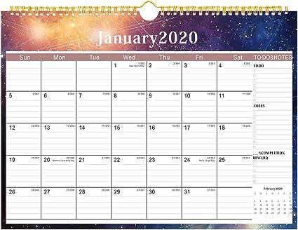 Calendario 2019 2019-2020 de pared, calendario académico familiar ...
