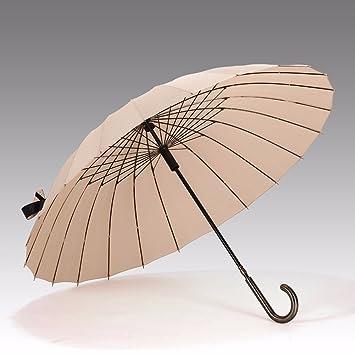 SSBY Nueva calidad boutique retro 24 huesos de hombres de negocios PARAGUAS paraguas paraguas de viento