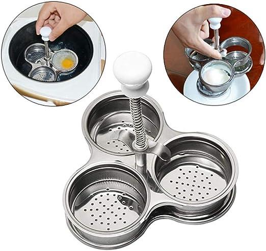 Sxuefang Cocedor huevos Caldera Para Huevos MultifuncióN 3 ...