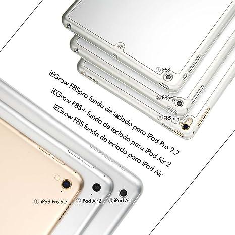 iEGrow Compatible para Teclado para iPad Pro 9.7 (Modelo ...