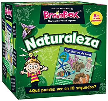 Brain Box- Juego de Memoria Naturaleza Castellano, (BrainBox 31693404)