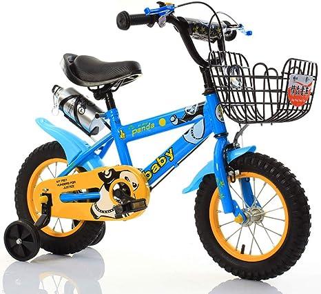 JYXZ Bici del Niño Bicicleta De Juguete Marco De Acero Al Carbono ...