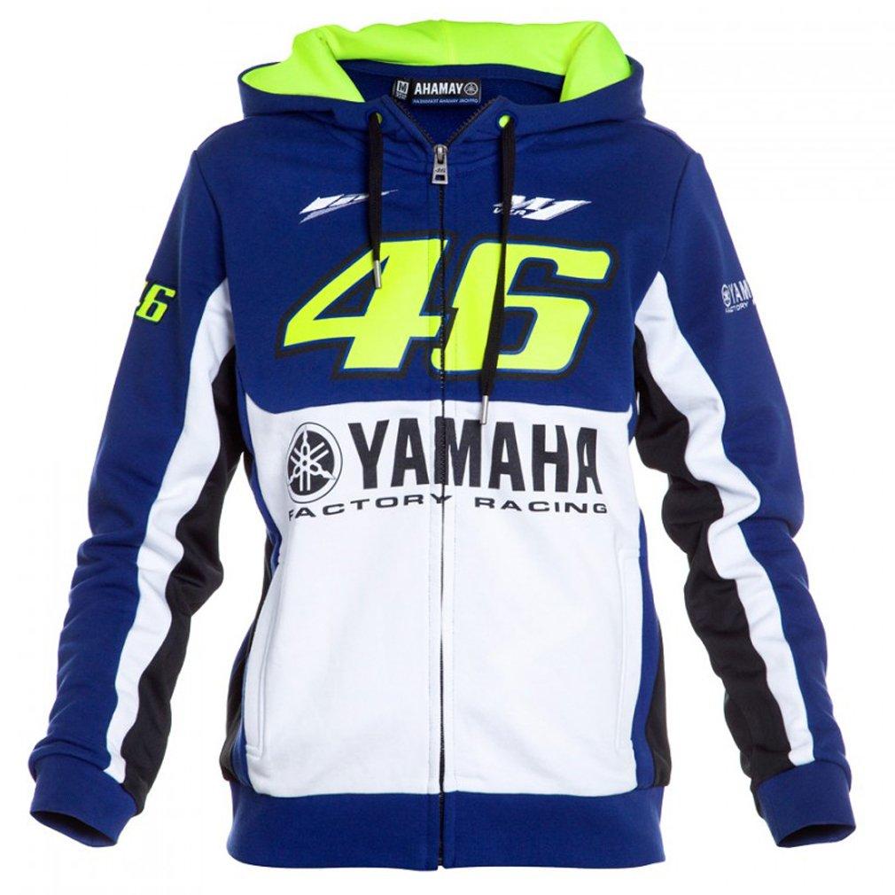 Valentino Rossi VR46 M1 Yamaha sudadera con capucha oficial 2016 Moto GP mujeres: Amazon.es: Deportes y aire libre