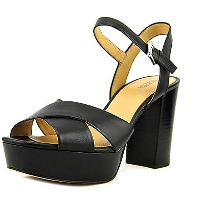 f5442b292130 Michael Michael Kors Womens Divia Open Toe Casual Ankle Strap