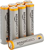AmazonBasics AAA Performance Alkaline Batteries [Pack of 8] - Packaging May Vary