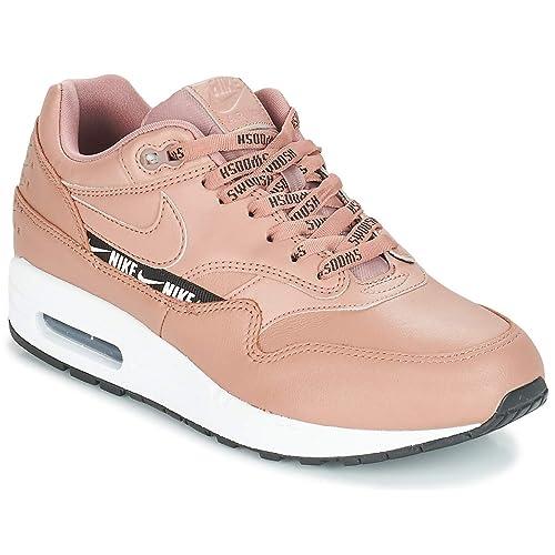 Nike Air Max 1 W Sneakers Donne Beige Sneakers Basse: Amazon