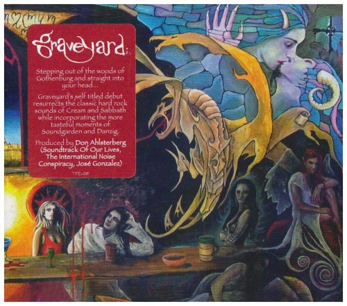 CD : Graveyard - Graveyard (Digipack Packaging)