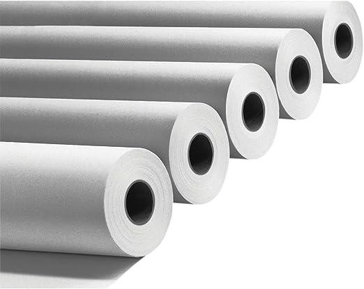Rollo de papel para plóter, 90 g, 914 mm x 50 m, 4 unidades para plotter HP y Epson: Amazon.es: Hogar