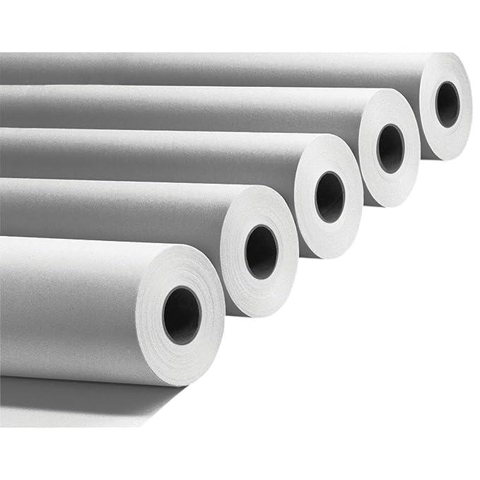 Rollo de papel para plóter, 90 g, 914 mm x 50 m, 4 unidades para ...