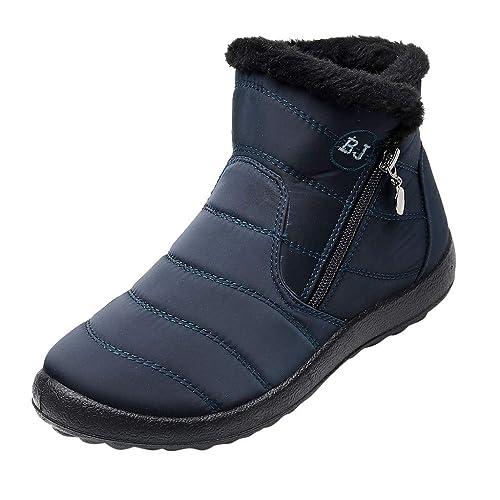 sneakers for cheap f8bfb 31041 Yearnly Winterschuhe Winterstiefel Wasserdicht Schneestiefel ...
