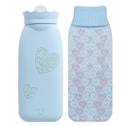 Bolsa portátil de agua caliente para invierno de 340 ml/525 ...