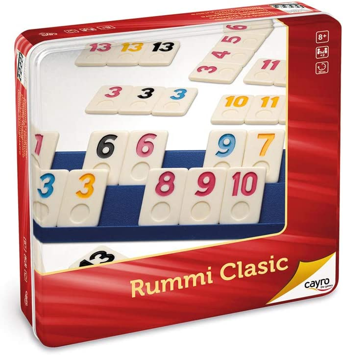 Cayro - Rummi Classic Caja de metal - Juego tradicional - juego de ...