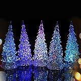 3 Pcs Multi-color Changing LED Christmas Tree Decoration Light Xmas Night Light