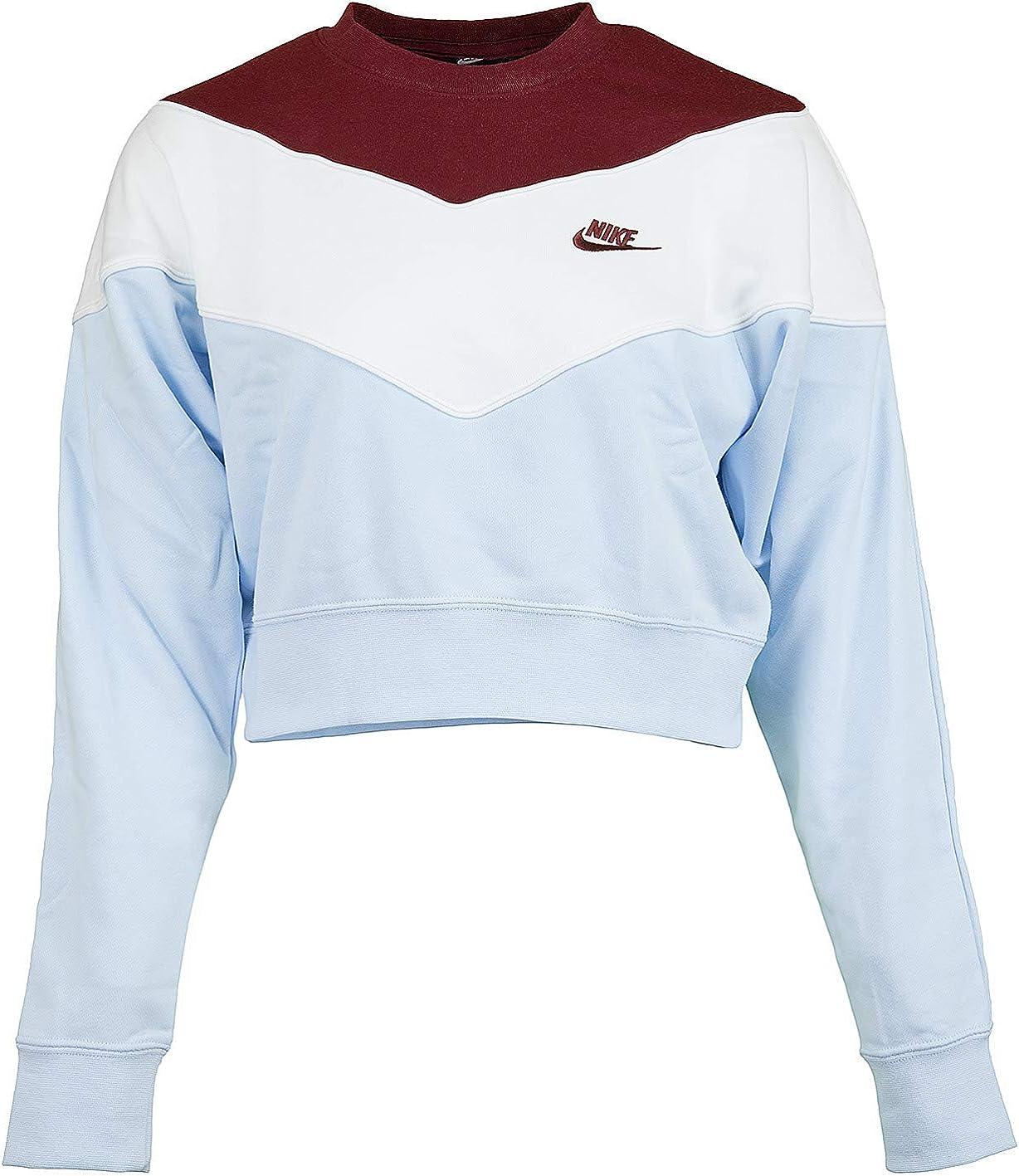 sweatshirt femme heritage crew sb nike