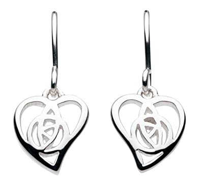 Heritage Women's 925 Sterling Silver Dangle and Drop Earrings MHLDQ