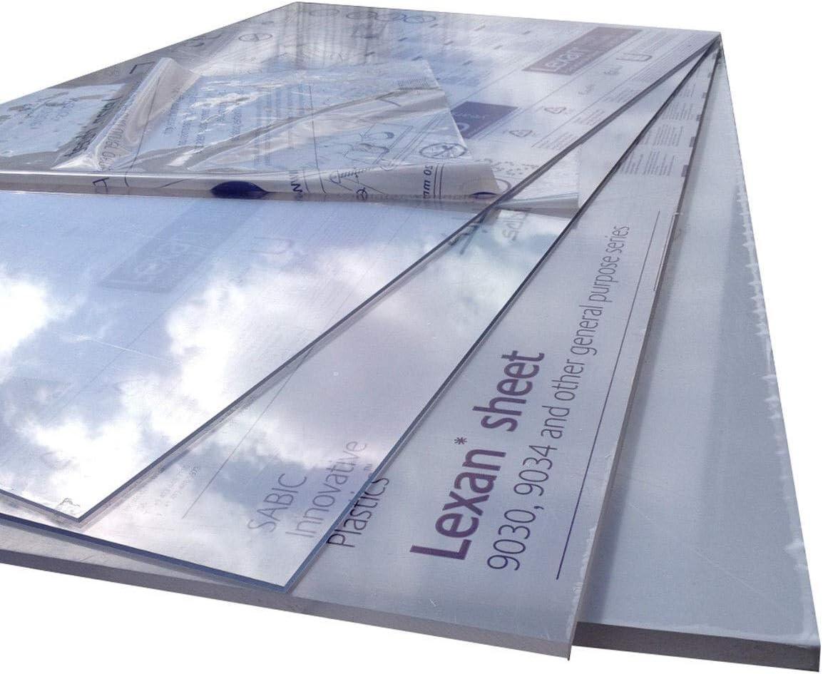 1000 x 600 mm verre acrylique, plexiglas* Plaque incolore Polycarbonate plaques.