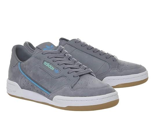 adidas originals x tfl continental 80 uomo sneaker grigio