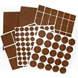 Feltrini per mobili 190 pz scivoli adesivi leggero non slip furniture pads pad adesiva in gomma - Feltrini mobili ...
