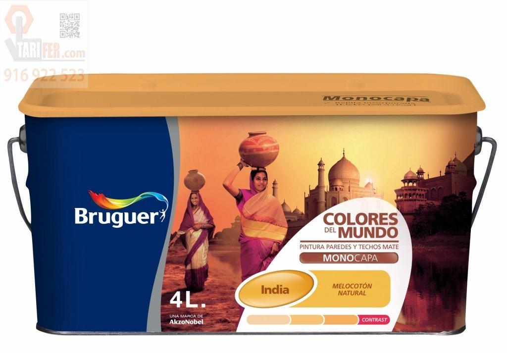 Bruguer M111984 - Pintura plastica colores del mundo india natural