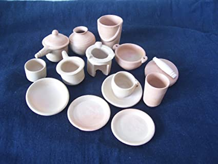 Miniature Kitchen Set Set Of 13 Amazon In Home Kitchen
