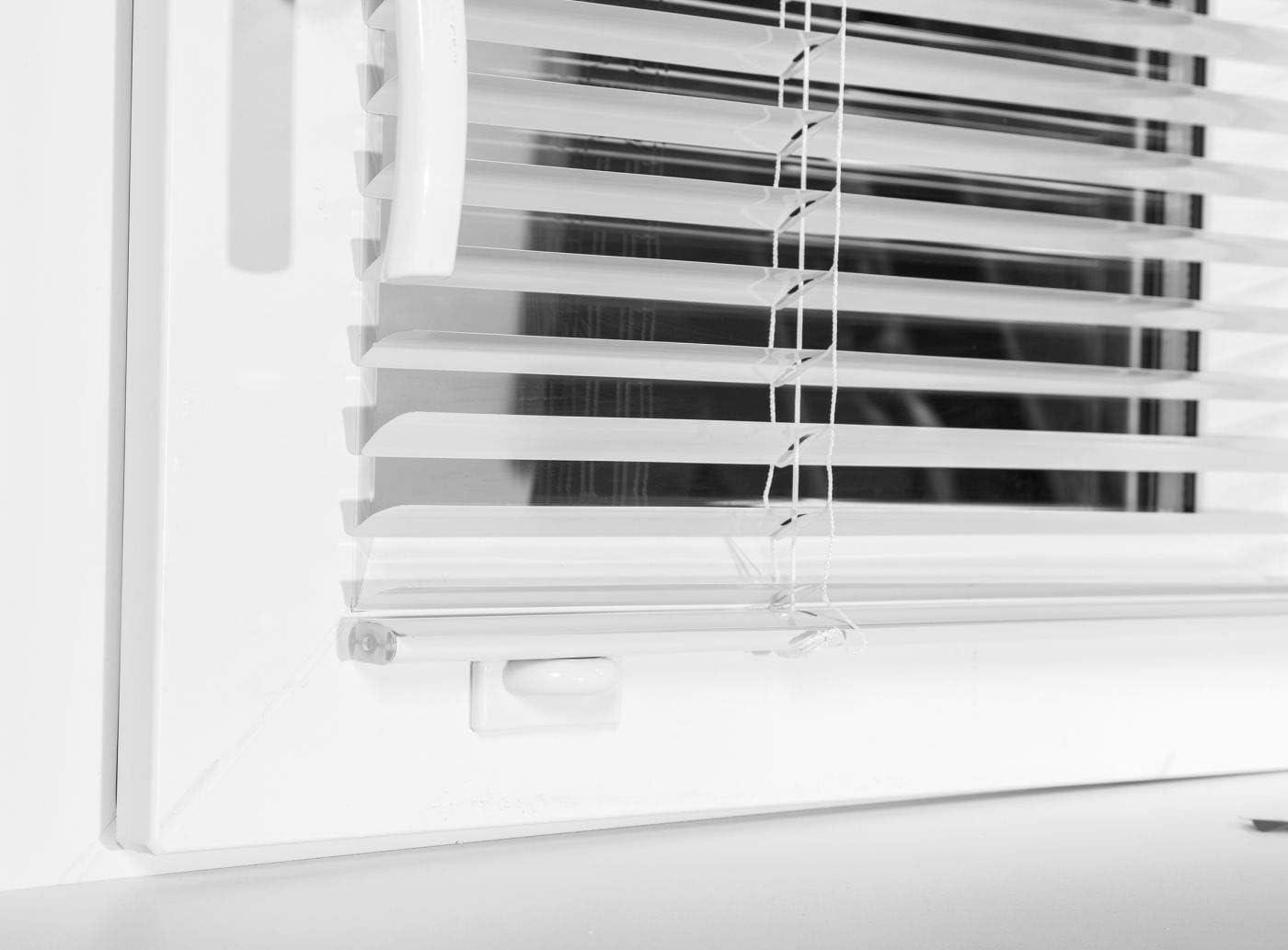 Persiana de aluminio para ventanas//puertas sin taladrar lamina colores a elegir
