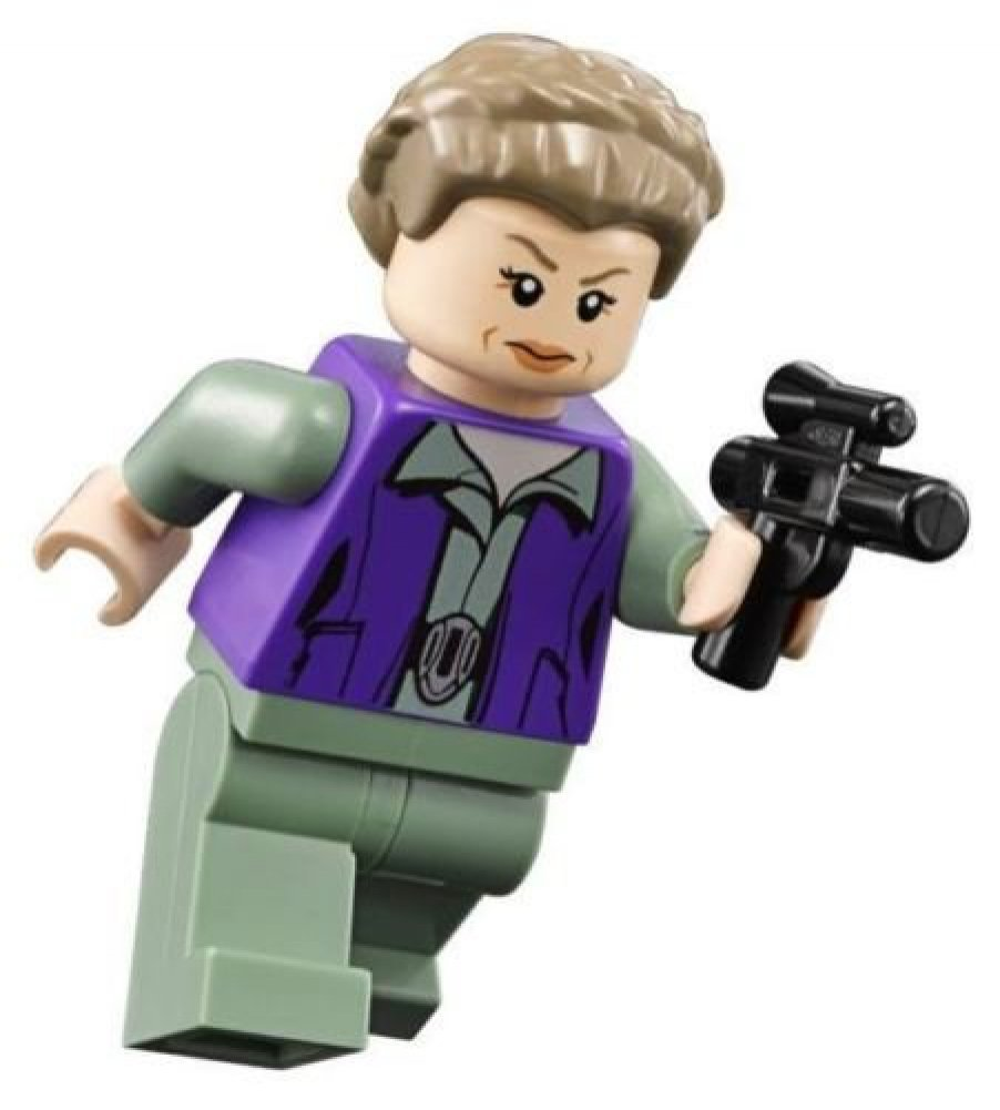LEGO Star Wars Minifigure - General Princess Leia with Blaster (75140)