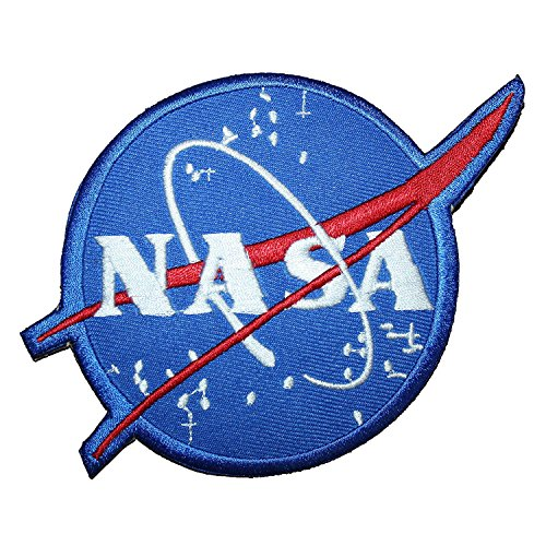 Nasa Clothing Patch (Armageddon NASA Vecto EMBROIDERED PATCH Badge Iron-on, Sew On 5