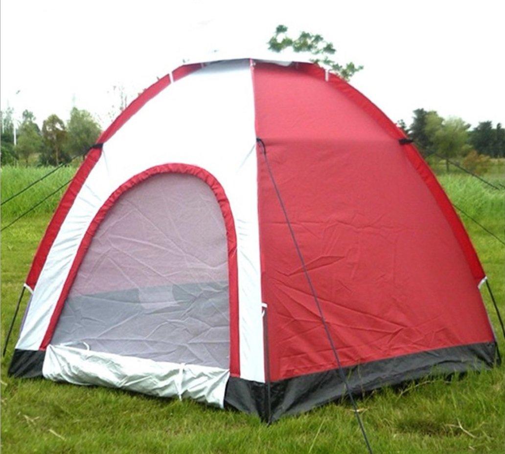 Strand Zelte UV Schutz Hexagon Outdoor Freizeit Tourismus Camping Zelte 5-6 Personen Outdoor Zelte ZXCV