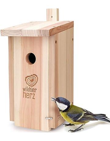 """Vogelhäuschen Vogelhaus """"Villa Kunterbunt"""" 2 Stück im Set"""
