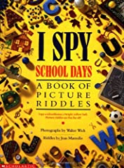 Search-and-find riddles paired with amazing photographs will captivate kids of all ages in the bestselling I Spy series.Acclaimed I Spy creators Walter Wick and Jean Marzollo use everyday objects to enhance intellectual discovery.From ...