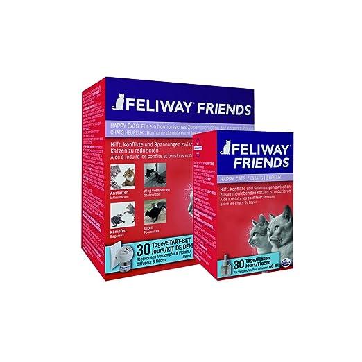 Feliway Difusor de feromonas para gatos Friends 48 ml 066809: Amazon.es: Deportes y aire libre