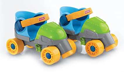Fisher-Price Grow with Me 1,2,3 Roller Skates for Kids
