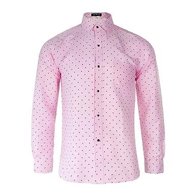 da1dd96b38cf ワイシャツ 柄シャツ メンズ 長袖 MCULIVOD ビジネス カジュアル おしゃれ 細身薄手 形態安定 無地 吸汗速