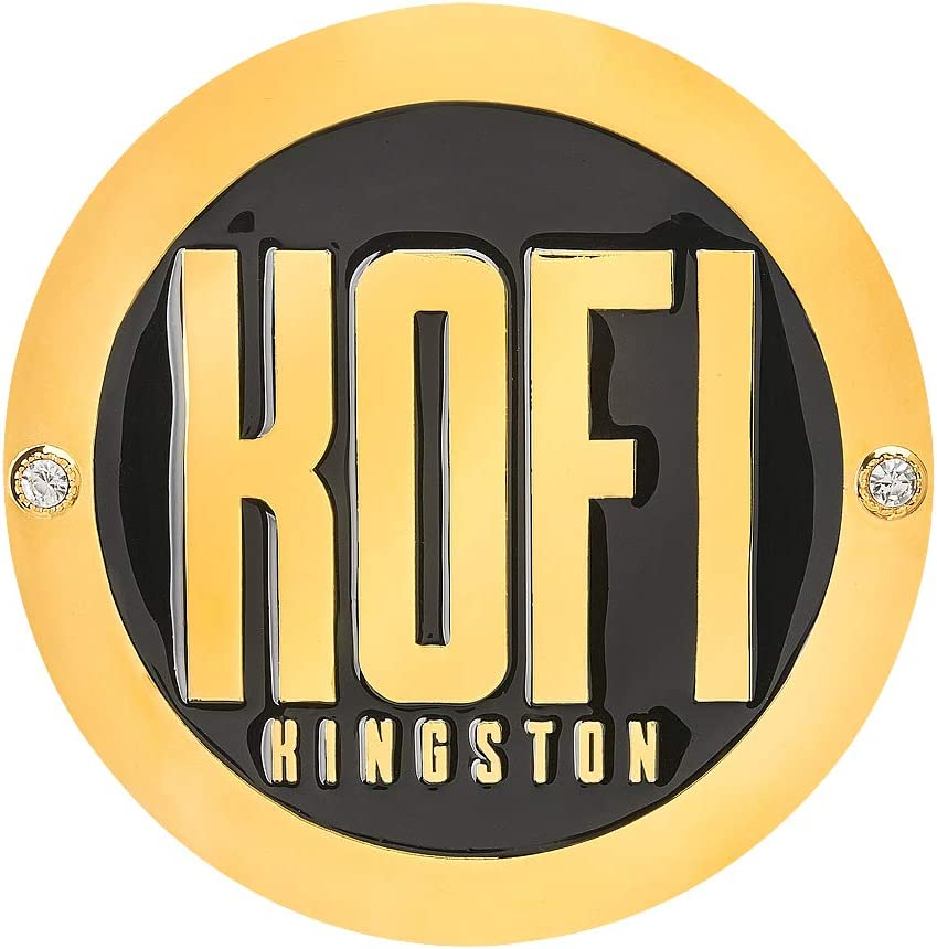 WWE Authentic Wear Kofi Kingston Championship Replica Side Plate Box Set