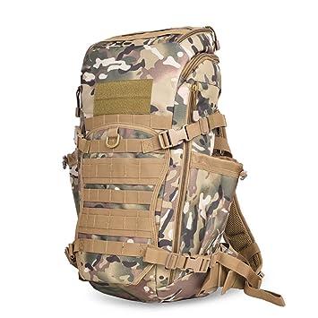 mochilas montaña Hombres y mujeres de gran capacidad de espalda al hombro al aire libre de