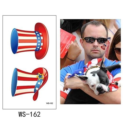 tzxdbh 5 Unids-Día de la Independencia Etiqueta Engomada del ...