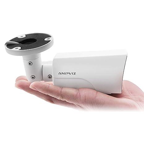 Anpviz Cámara de Seguridad inalámbrica WiFi 1080P HD IP cámara de Bala impermeadble para Interiores y