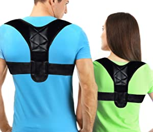 Posture Corrector for Men and Women, Effective Clavicle Brace for Neck Shoulder Back Pain, FBA Approved,Back Brace for Posture