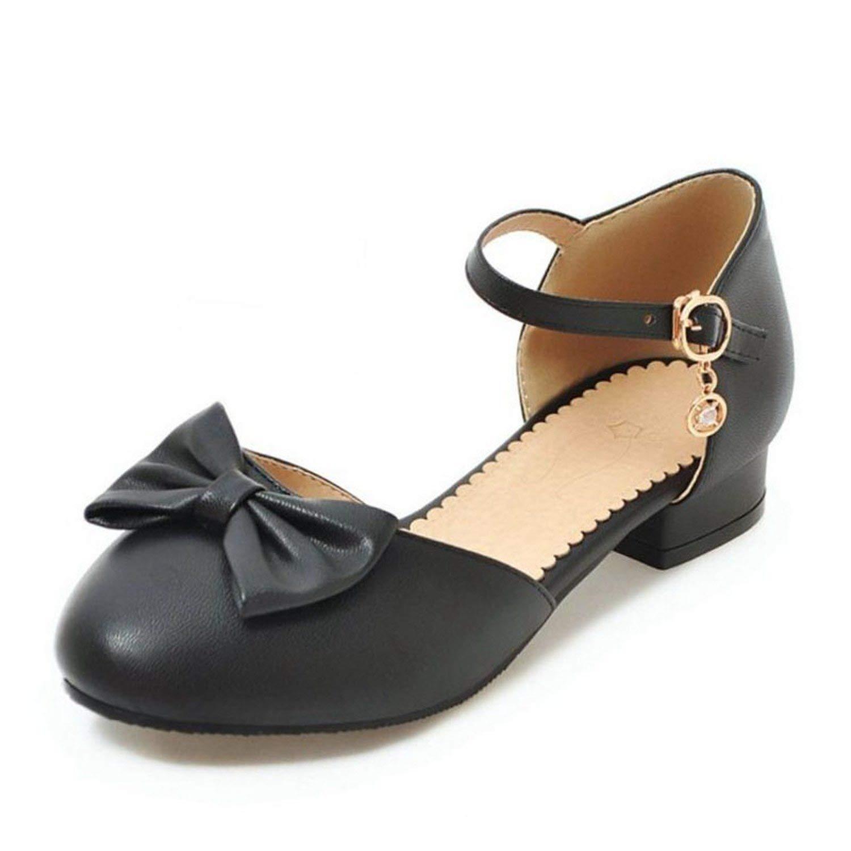 Jifnhtrs Plus Size 30-50 Bowknot Spring Summer Sandals Party Dance Shoes Women Club Sandals