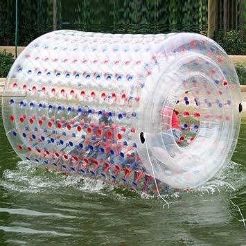 Rodillo inflable agua bola de balanceo agua bola Zorbing pelota ...