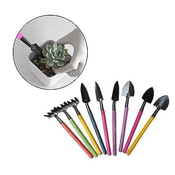 SimpleLife 3 piezas mini conjunto de herramientas de jardín, trasplante de plantas de hadas de trasplante ...