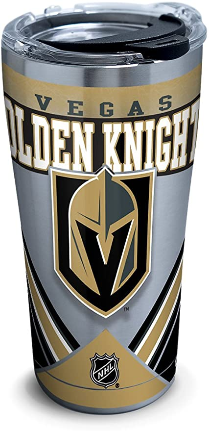 1cd246a4c5840 Tervis 1283475 NHL Vegas Golden Knights Ice Stainless Steel Tumbler With  Lid 20 oz