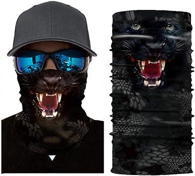 SHICHENGHUI Animal Face Shield la Impresion 3D Protector Mascara ...