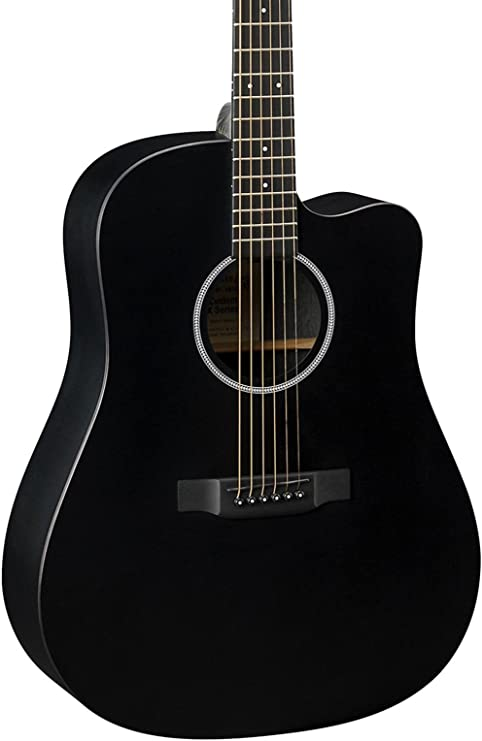 Martin Guitars dcxae Black Western Guitarra: Amazon.es ...