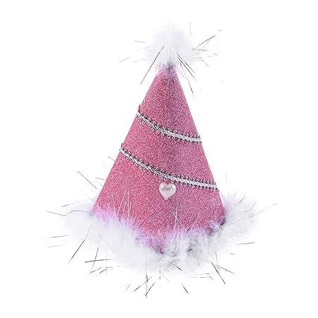 MEIDI Home Sombrero del Cono del cumpleaños de la Princesa ...