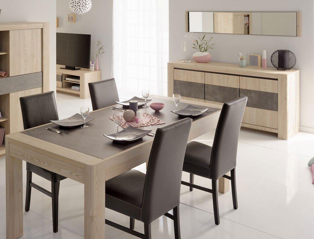 Liebenswert Tisch Esszimmer Galerie Von H 3 Eiche Steinoptik Esstisch Sideboard Polsterstuhl