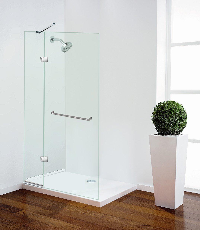 Celesta Series Sr930 Frameless Bathtub Shower Screen With Swing